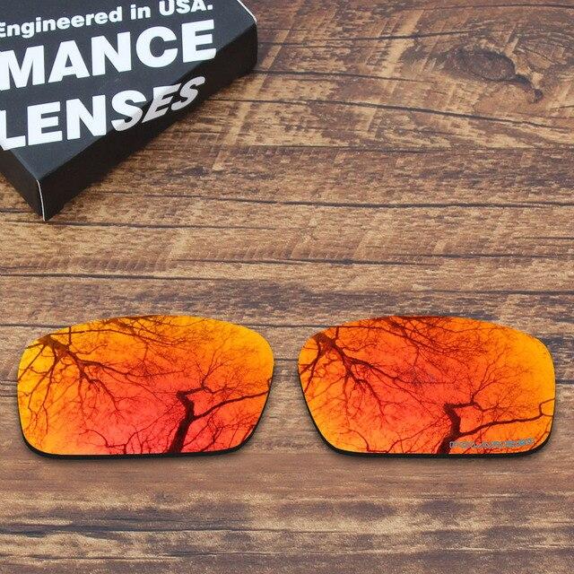 b154d571d5b3 ToughAsNails Resist Seawater Corrosion Polarized Replacement Lenses for  Oakley Crankshaft Sunglasses Orange Red Mirrored