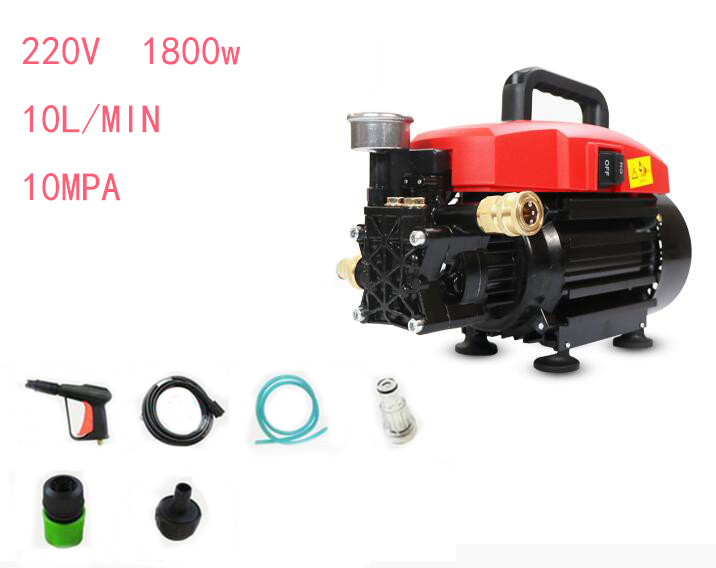ultra High Pressure 1800W Car Wash 220V Car Wash Machine Portable Car washer With Pressure Switch see the description video five little monkeys wash the car