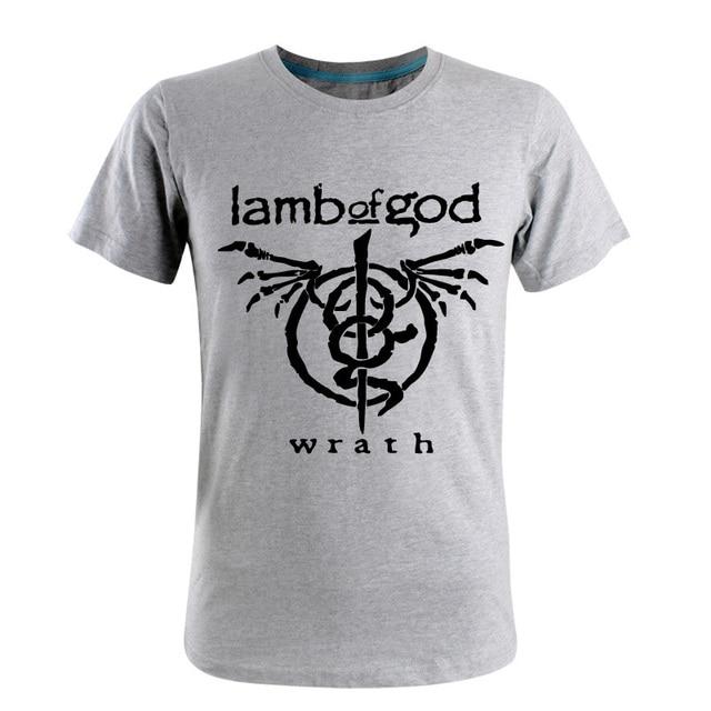 Summer Lamb Of God Rock Band T Shirt Hiphop T Shirts Printing Slim