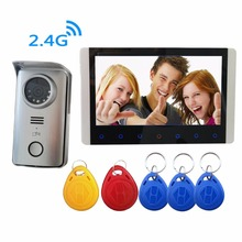 Digital Wireless Video Intercom Doorbell RFID Camera DVR Security System Vdeo-eye Include Battery