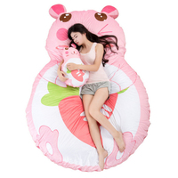 Fancytrader гигантские плюшевые мягкие Кролик Банни татами кровать матрас с двойной Размеры 220X170 см