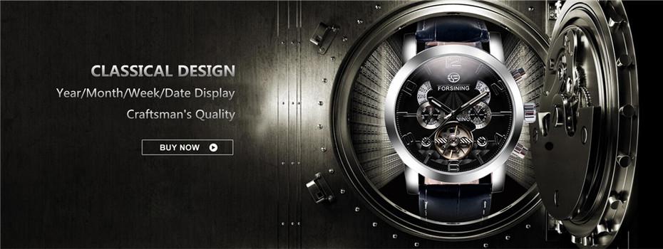 Fashion Machanical Men wristwatches