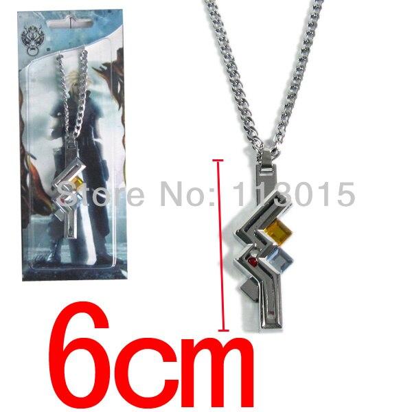Lightning Returns Final Fantasy Toys XIII FF13 Lightning Necklace Alloy Pendants High Quality final fantasy ff xiii lightning fresh