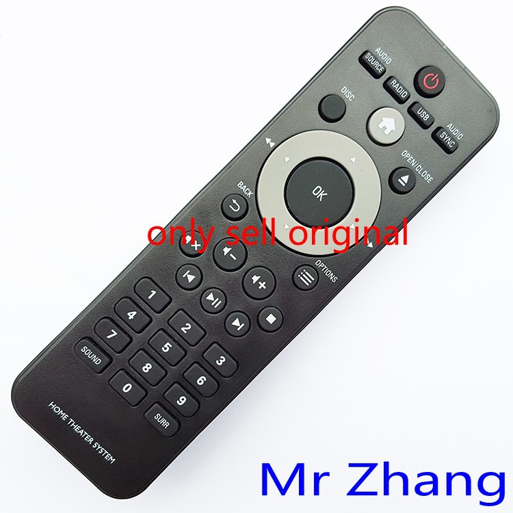 Original remote control for Philips home theater system HTD5510 HTD5540 HTD5570