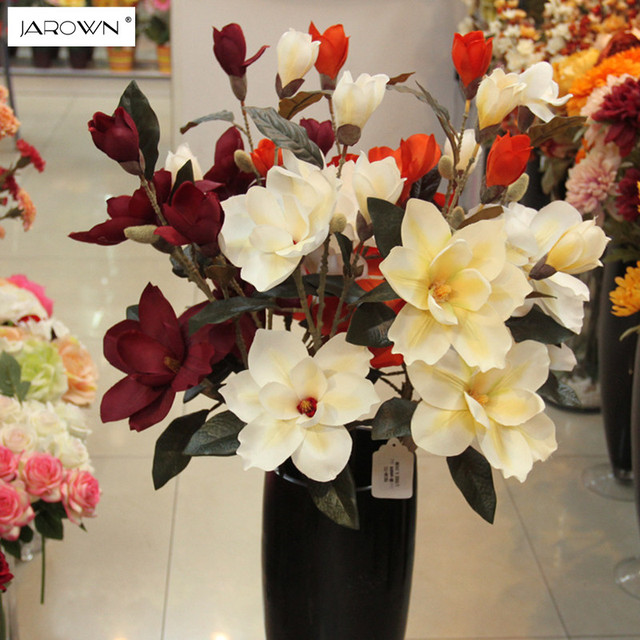 Jarown artificial orchid flower single decorative silk flower jarown artificial orchid flower single decorative silk flower artificial plants for wedding home party decoration accessory mightylinksfo