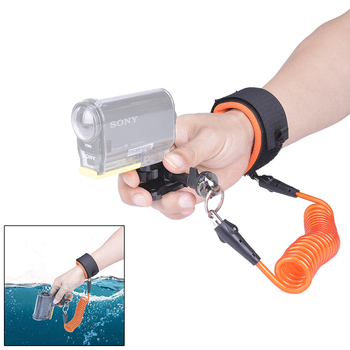 цена на Fantaseal Diving Wrist Strap Underwater Camera Strap Floating for Sony FDR-X3000 HDR AS300 AS50R AS50 AS30V AZ1 Sports Camcorder
