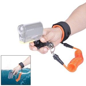 Image 1 - Fantaseal الغوص شريط للرسغ كاميرا تحت الماء حزام العائمة لسوني FDR X3000 HDR AS300 AS50R AS50 AS30V AZ1 الرياضة كاميرا