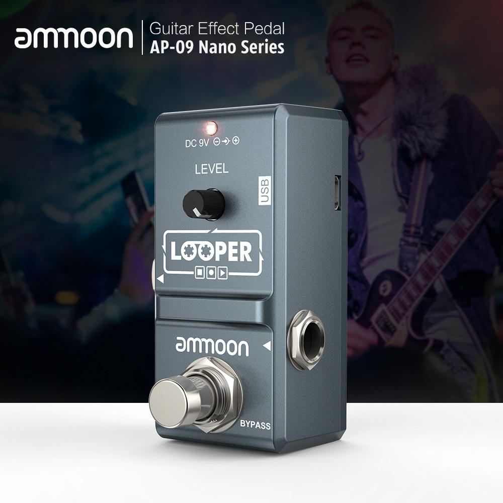 buy ammoon ap 09 loop guitar pedal electric guitar effect pedal looper. Black Bedroom Furniture Sets. Home Design Ideas