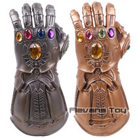 Avengers 3 Infinity War Thanos Gauntlet Cosplay Glove Gold Superhero Thanos Glove Halloween Party Props Latex Marvel Toys