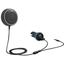 CDEN Bluetooth FM Transmitter Car MP3 Player Wireless Charger Modulator HandsFree Kit USB Black