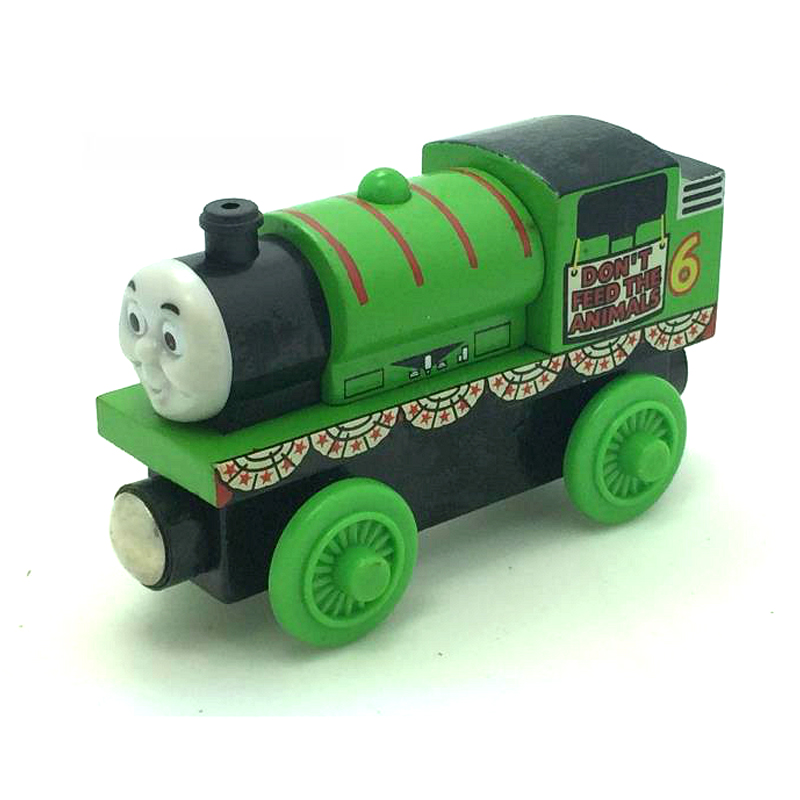 W84 free shipping RARE Original Festivals Percy Thomas And Friends Wooden Magnetic Railway Model Train Engine Boy/Kids Toy