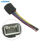 LEEWA Car Radio Stereo Wiring Harness Adapter For Mitsubishi Lance/Outlander/Mirage Aftermarket Installation CD/DVD #CA1444