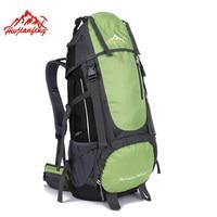 Outdoor Sports 55L Sport Bags Men S Travel Hiking Backpack Waterproof Cover Women Camping Climbing Rucksack