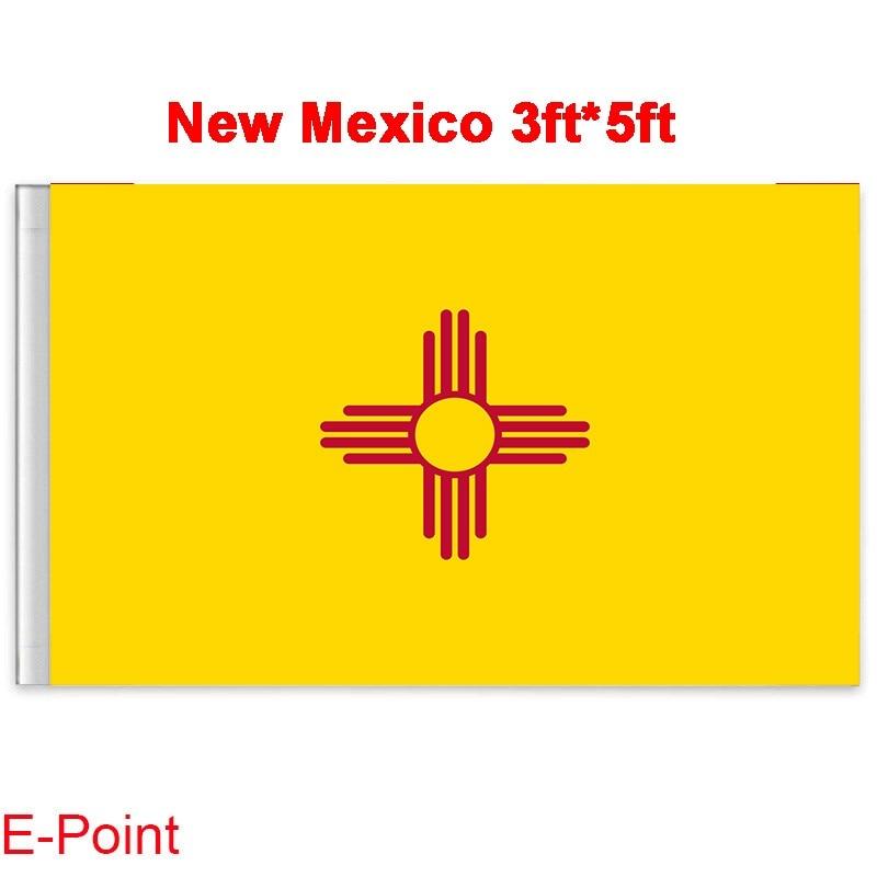American Flag State Flag 90 150cm New Mexico Flag Digital Printing