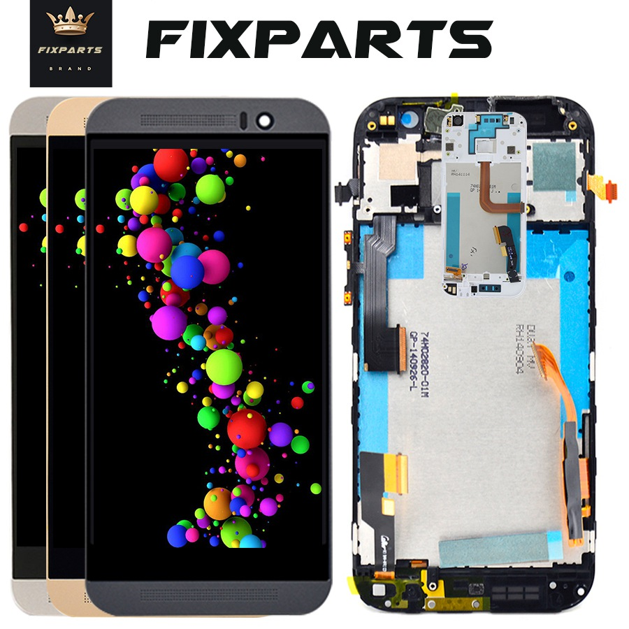 Original For HTC ONE M8 LCD Display Touch Screen Digitizer Assembly 1920x1080 Mobile Phone Replacement Parts For HTC M8 Mini LCD