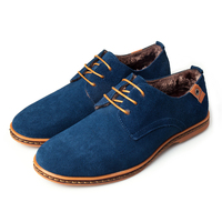 New Arrival Men Shoes European Style Male Casual Business Shoes Wear To Work Solid Color Lace