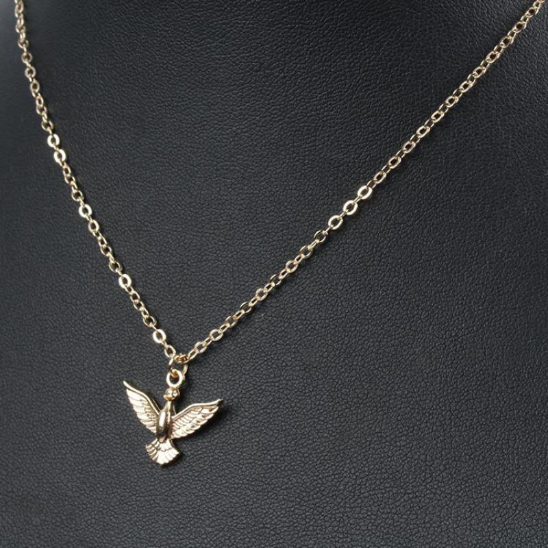 Simple necklace gold bird pendant necklaces chain choker for women simple necklace gold bird pendant necklaces chain choker for women collares mujer to best friend maxi necklace jewelry bijoux in pendant necklaces from mozeypictures Choice Image