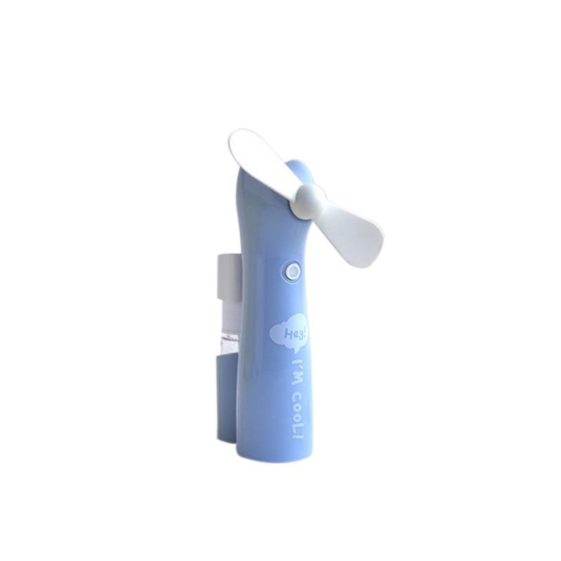 Mini Fan Squeeze Water Spray Fans Handheld Fan Desk Table Personal Fan with USB Rechargeable Battery Operated Electric