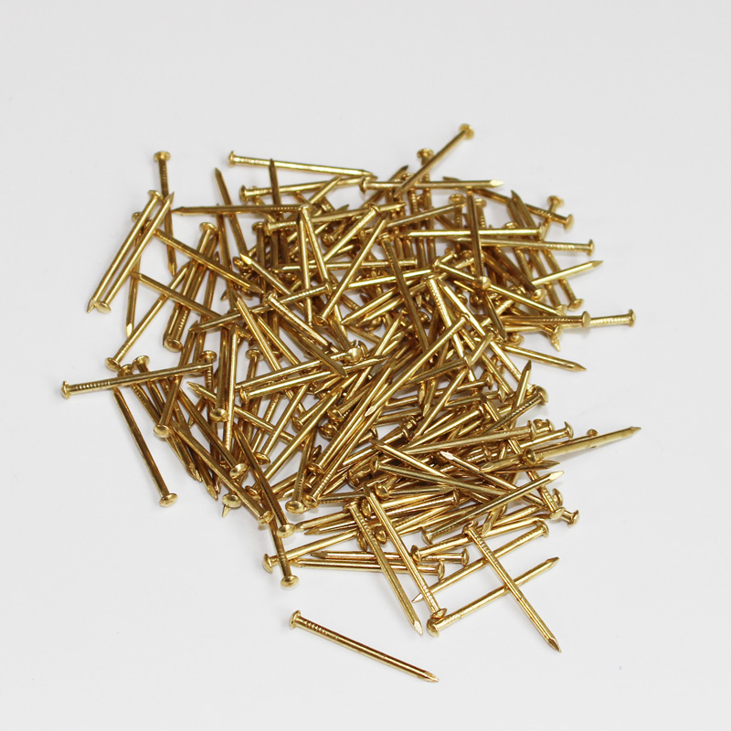 25 X  LARGE STEEL UPHOLSTERY FURNITURE FABRIC NAILS STUDS TACKS PINS WOOD CHEST