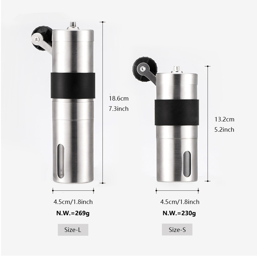 Manual Coffee Grinder 20 30g Washable Ceramic Core Home Kitchen Mini Hand Coffee Mill Household tool Coffee Grinding Machine in Electric Coffee Grinders from Home Appliances