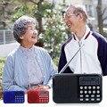 USB Recarregável 2.0 Dual Band Digital Display LED Cartão TF Rádio FM Embutido Hands-free Mic MP3 Music Computador Orador jogo