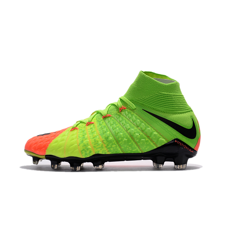 5b5f7feef Nike Hypervenom Phantom III FG Outdoor Men Soccer Shoes Gray Football Boots  Original AH7270-081 39-45