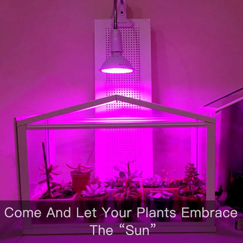 LED Grow ไฟเต็มสเปกตรัม Fitolampy Phyto โคมไฟ E27 Phyto-สำหรับในร่มดอกไม้ผักพืชเต็นท์กล่อง Fitolamp