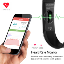 Smart Wrist band 2 Fitness Tracker Step Counter Calorie Sleep Pedometer Heart Rate