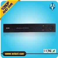Full Hd 1080P 4ch AHD DVR 25fps Recording Security CCTV Camera H 264 DVR HDMI 4