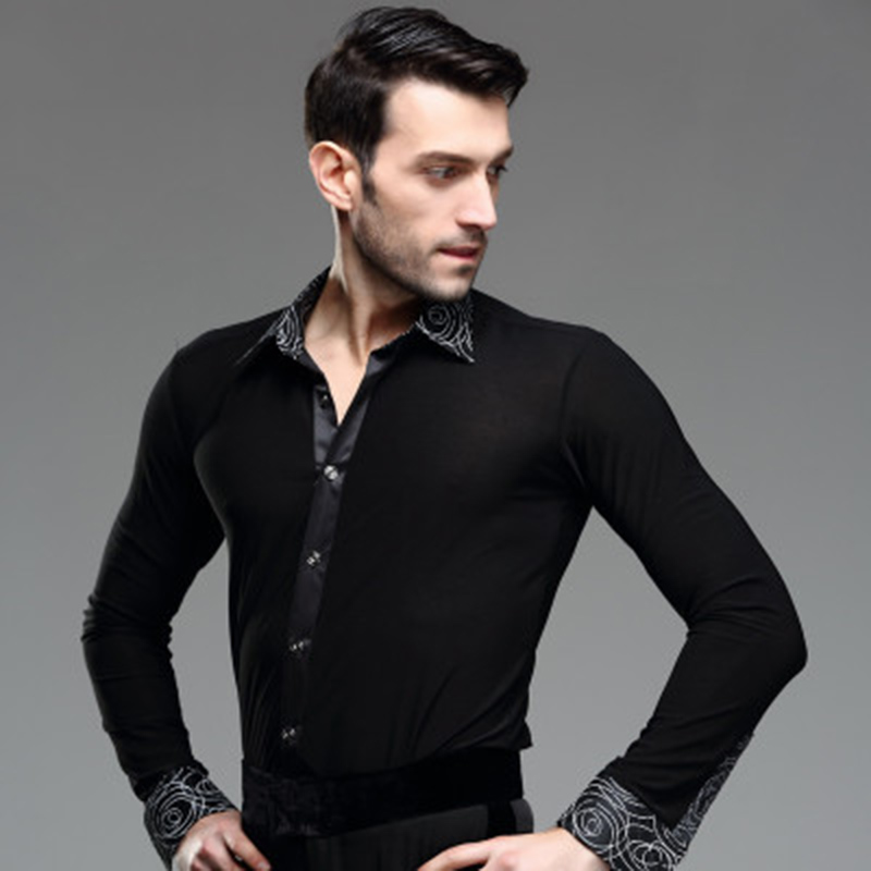 Men's Latin Dance Coat Adult Male Square Short Sleeved Shirt Fashion Rumba Samba Dancing Clothes Morden Canding Clothes-in Latin from Novelty & Special Use on Aliexpress.com   Alibaba Group