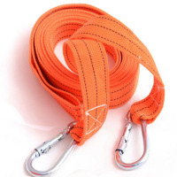 Car Towed For Car Truck Camping 5M 3 Tonnes Emergency Steel Recovery Tow Rope Pulling Rope