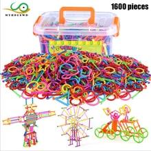 MYHOESWD DIY геометрический разъем, головоломка, строительные блоки, Обучающие кубики, красочные строительные блоки, игрушки для сборки