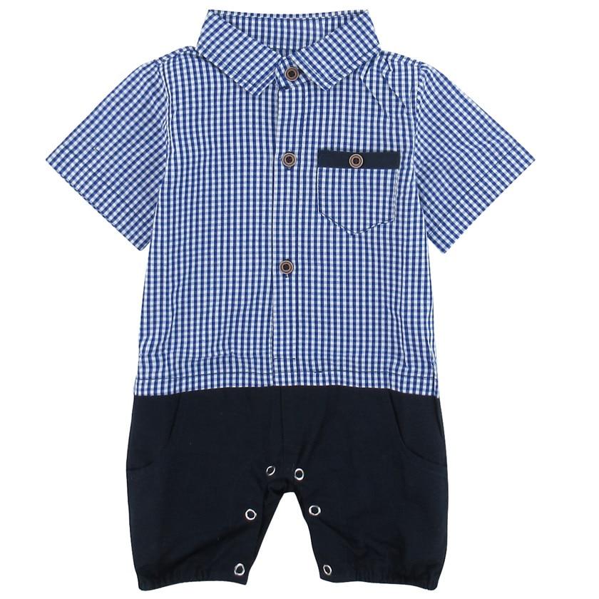 Baby Boys Gentleman Overall Tuxedo Romper Infant Onesie with Bow Tie