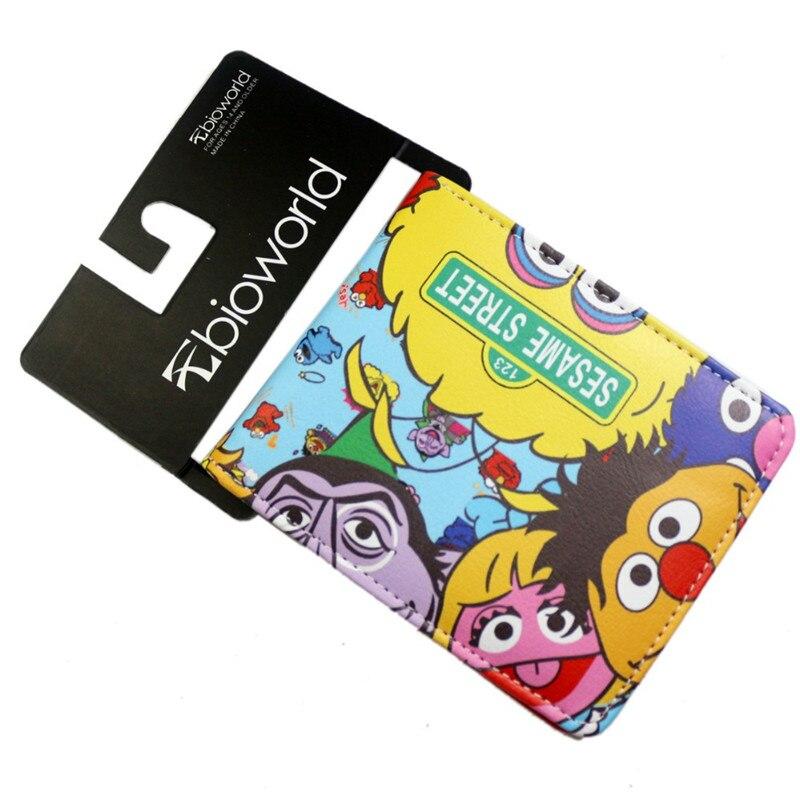 100% Wahr Niedlichen Cartoon Movie Doctor Who Logo Geldbeutel Sesame Street Brieftaschen Heißer Tv Serie Despicable Me Cion Geldbörsen