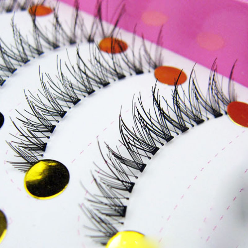 20 Pairs Transparent Crisscross Cheap False Eyelashes Fake Lashes Eyelash Extensions Tools Long Eyelashes Lashes For Building