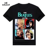 2016 New The Beatles Rock Printed Funny T Shirt Men Humor Casual College Mens The Guitar