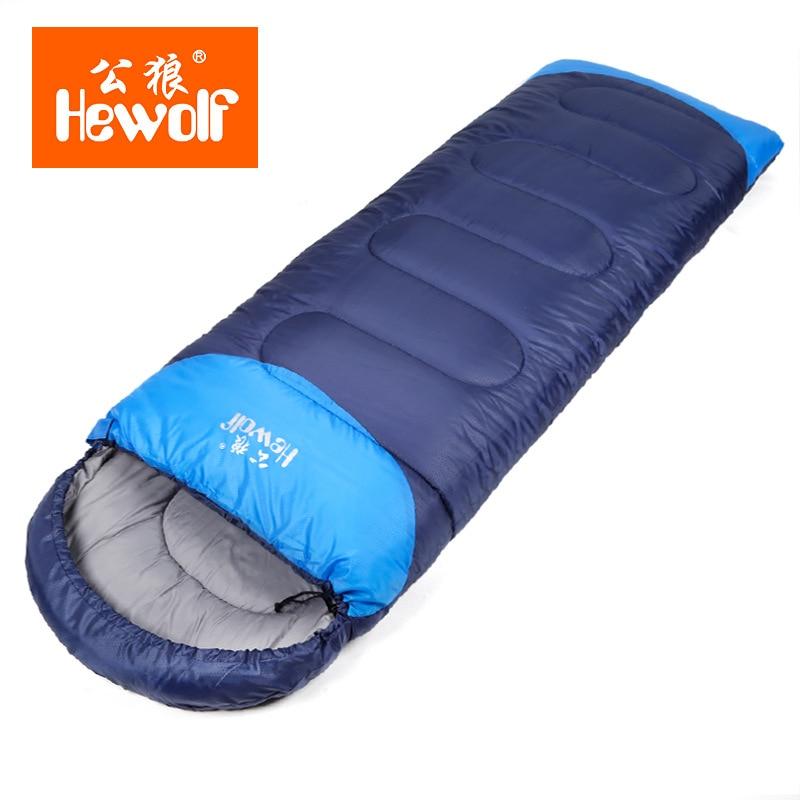 Thickening Outdoor Camping Adult Sleeping Bag Waterproof Keep Warm Thre Seasons Spring Winter Sleeping Bag for Camping Travel