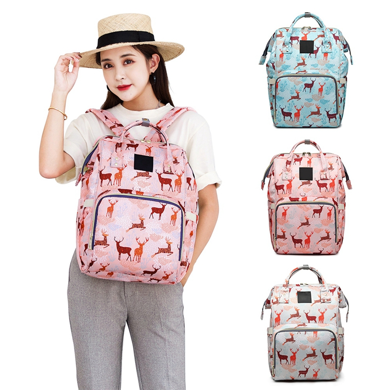 Diaper Bag Big Maternity Baby Bags Mom Large Backpack Waterproof Nappy Fashion Cartoon Mummy Bag For Stroller Bolsa Maternidade