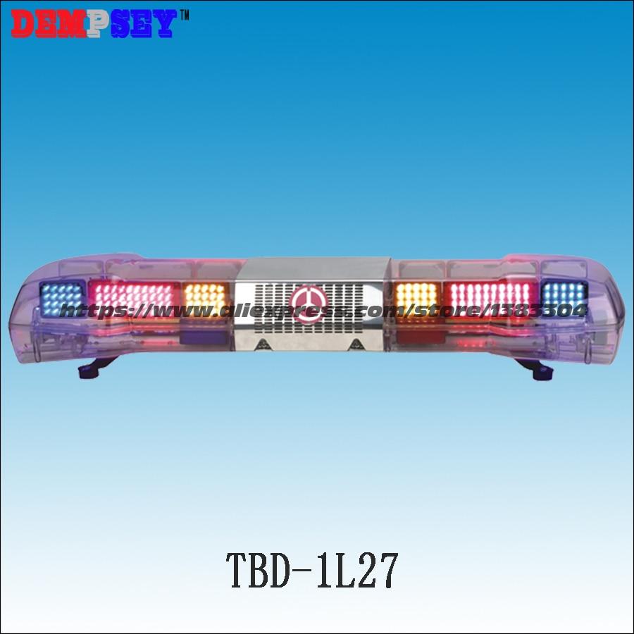 Sicherheit & Schutz Tbd-1l27 Super Helle Led Lichtbalken/rot/blau/gelb Blinkende Warnleuchten/100 Watt Sirene & 100 Watt Speake Sicherheitsalarm