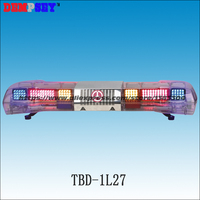 Tbd-1l27 супер яркий светодиодный световая/красный/синий/янтарный мигающий свет/100 Вт сирена и 100 вт СПИК