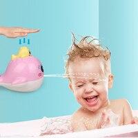 Милые игрушки для ванной ребенка карамельный цвет пластик КИТ номер кровать кроватки детские игрушки-погремушки Забавные игрушки T0265