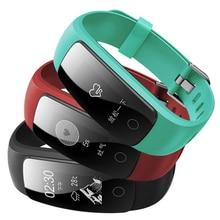 GPS позиционирование Smart Напульсники ID107 плюс Фитнес сердечного ритма tracker с Bluetooth удаленного соединения телефон напомнить браслет
