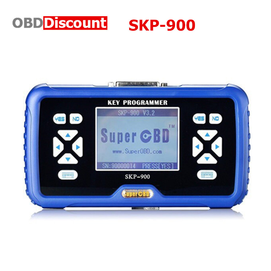 Prix pour SuperOBD SKP-900 Key Programmeur V5.0 SKP900 SKP 900 OBD2 Soutien Presque Toutes Les Voitures dans le Monde Mise À Jour En Ligne