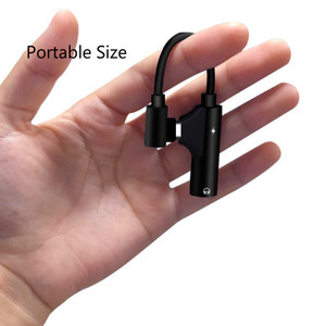 Image 3 - 2pcs pack USB C to Headphone Jack Adapter Type C 3.5mm Audio and Charging Converter Compatible with xiaomi Huawei type C device