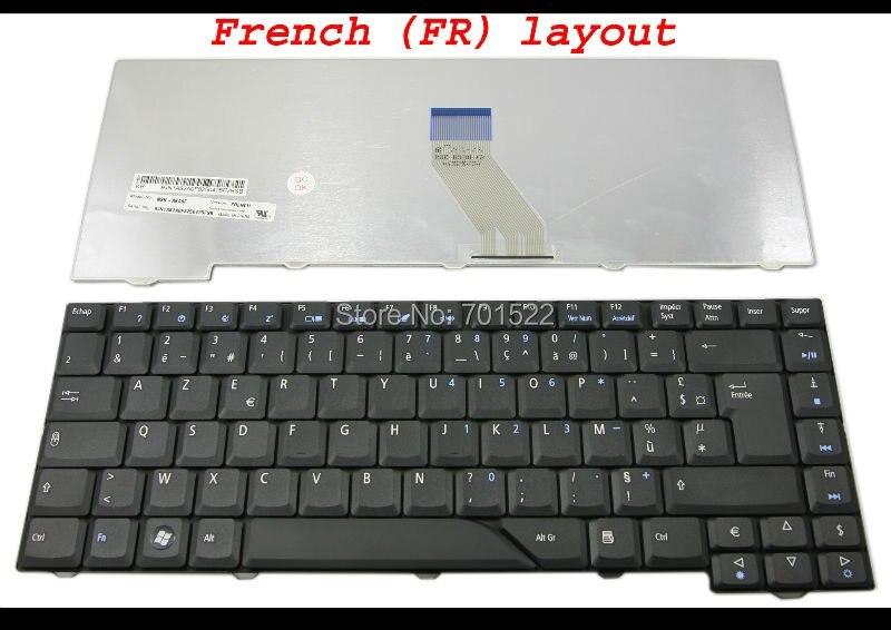 Ноутбук клавиатура для ноутбука acer Aspire 4530 4710 4720 4930G 4710G 5300 5730 5732 5739 6935 Черный Французский FR клавиатура AZERTY клавир