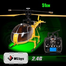 WLTOYS V915 Quadcopter RC FPV Dragonfly Drone 4CH 2.4G 6 Axis Gyro 2 Modes Single Propeller Remote Control Helicopter
