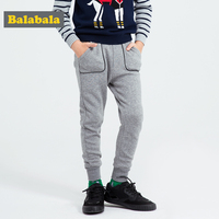 Balabala Cotton Pants For Children Kids Trousers 2017 Brand Leggings For Boys Winter Baby Clothes Leggings