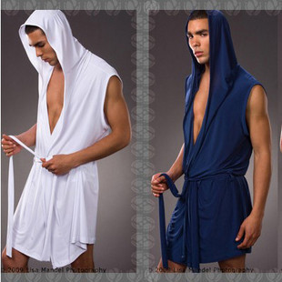 New N2N men robe high quality solid color silk robe men sexy lace mens  short robes summer hot style Free Shipping c2b2faf1a