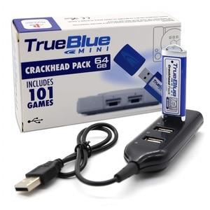 Image 1 - Dealonow 64G/32G אמיתי כחול מיני Crackhead חבילה/ספיד חבילה/עשב חבילה/להילחם חבילה עבור פלייסטיישן אביזרי עם מיני USB רכזת