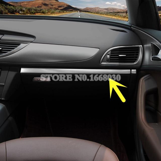 Interior Glove Box Moulding Trim Cover 2pcs For Audi A7 Sportback 2009 2018